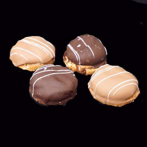 Afbeelding van Gevulde bitterkoekjes mini (per 10)