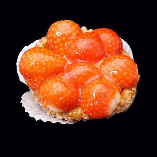Afbeelding van Aardbeien schelpje 1 pers