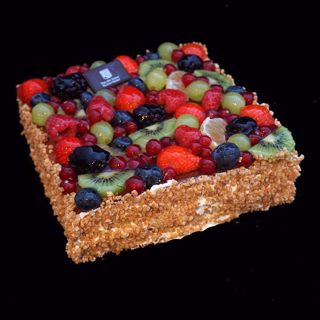 Afbeelding van Vruchtentaart 20 pers