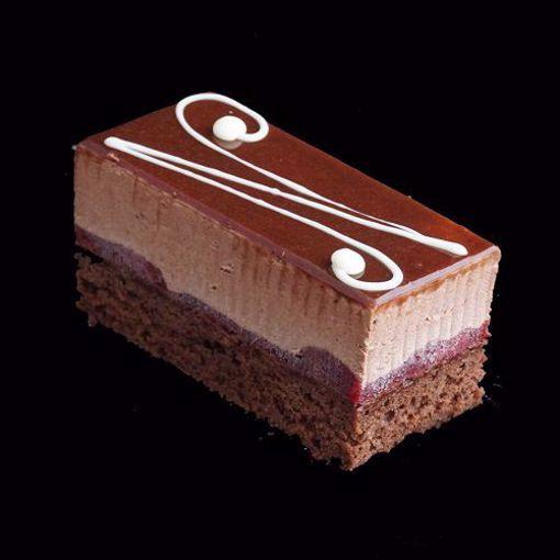 Afbeelding van Chocolade bavarois gebak