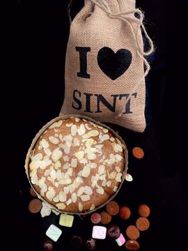 Afbeeldingen van Sint taart pakketje